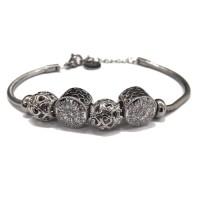 Bracciale da donna glitterato lemon jewelry charm