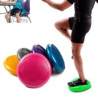 Cuscino Balance gonfiabile in pvc per fitness, mal di schiena 4115