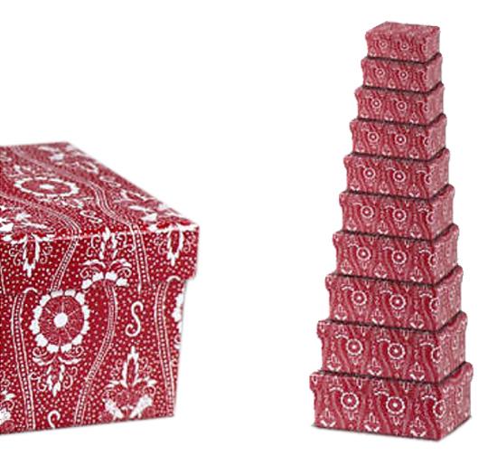 Scatola portaoggetti matryoshka 10 scatole vari colori e - Scatole portaoggetti ...