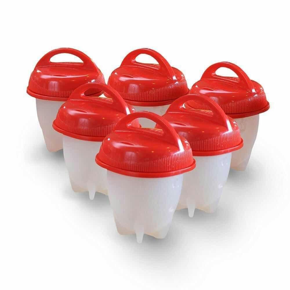 Bollitore cucina 6 uova sgusciate cuoci uova in silicone for Cucinare uova sode