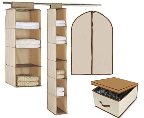 Set ordina armadi 4pz per un armadio sempre ordinato - Oggetti per la camera da letto ...