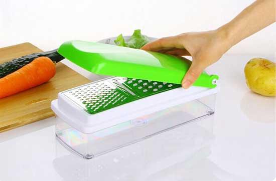 Multifunctional vegetable cutter tagliatutto affetta trita - Articoli per cucina ...