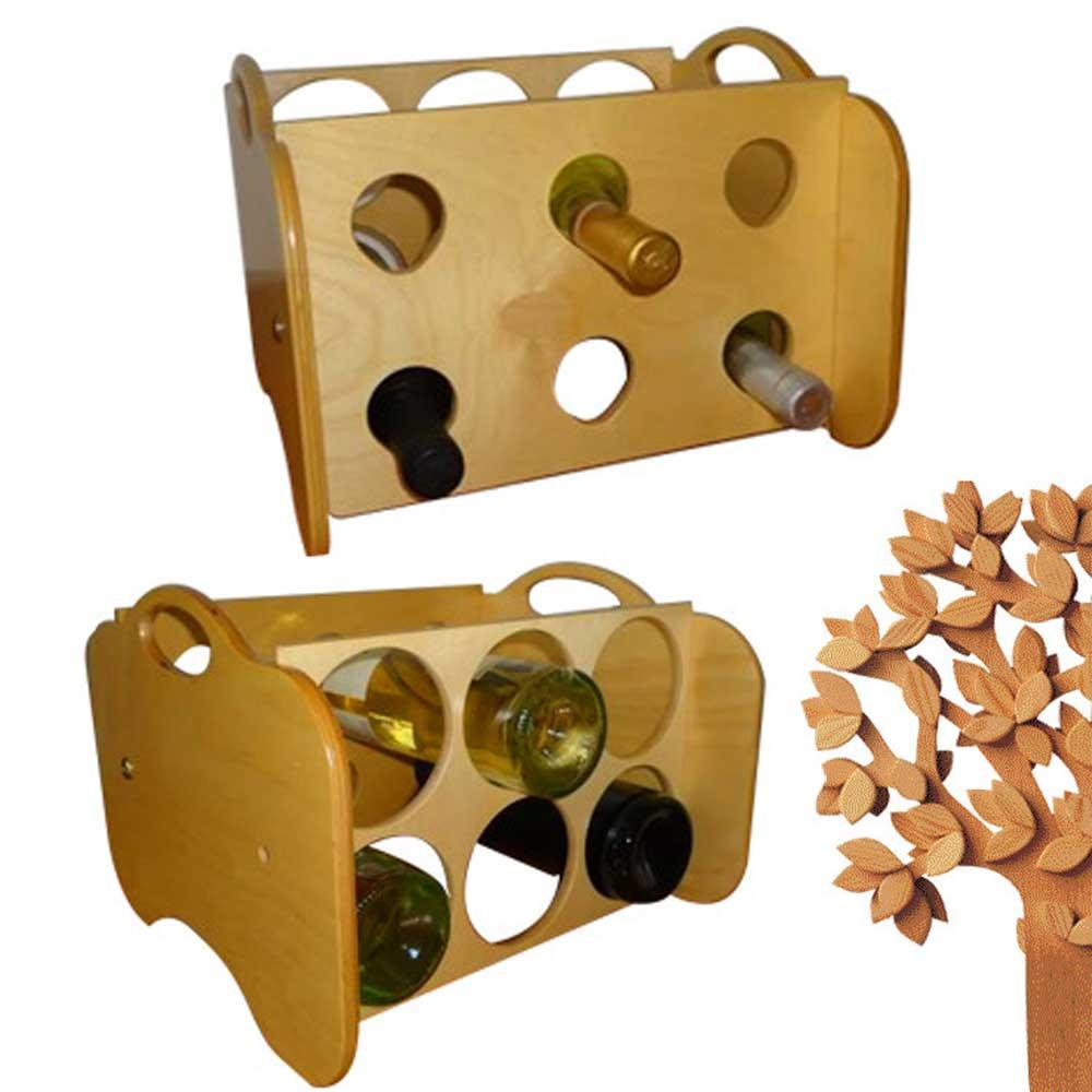 Portabottiglie foppapedretti cantinetta 6 posti per vino for Vendita online oggetti per la casa