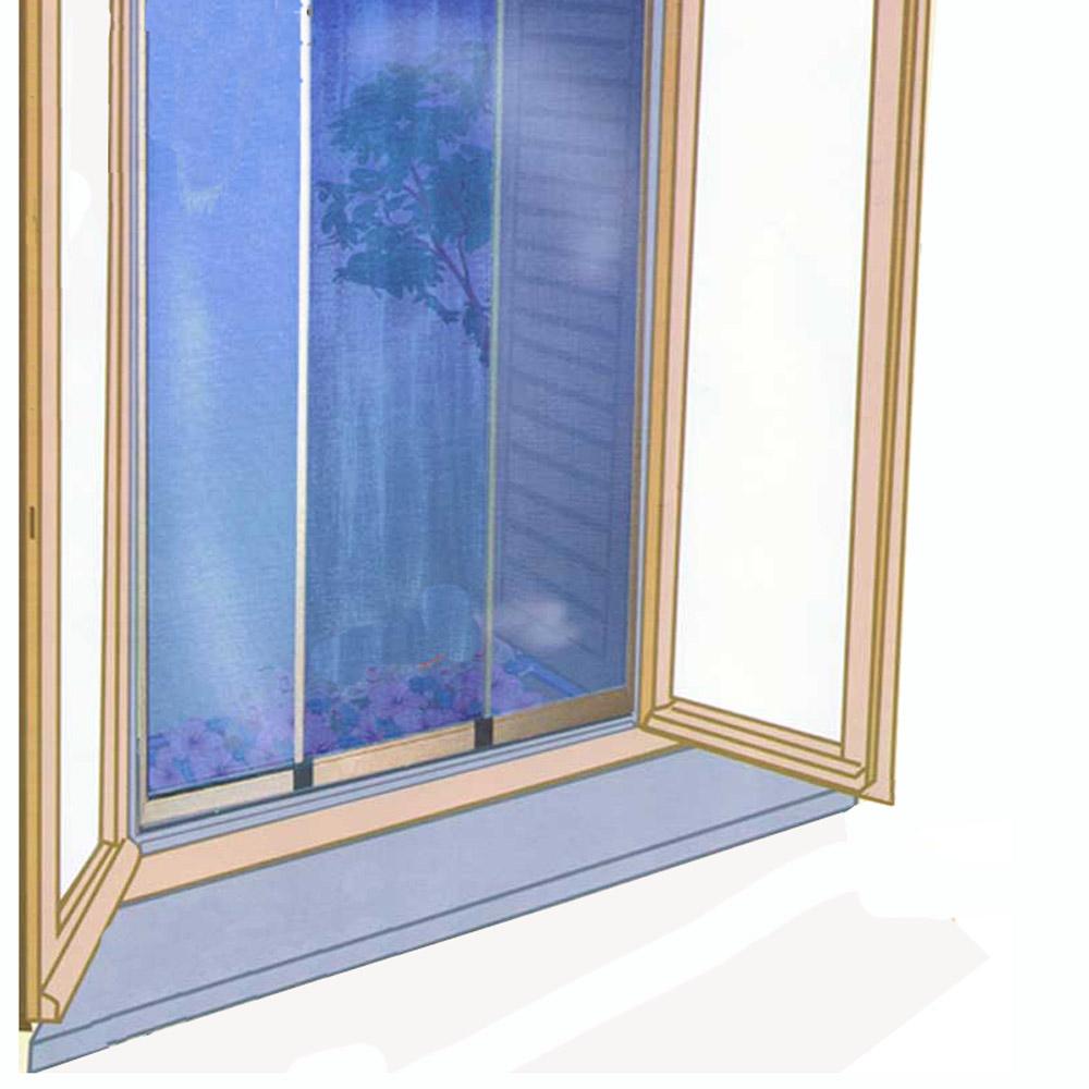 Zanzariera per finestra reversibil e orizzontale verticale - Montare una finestra ...