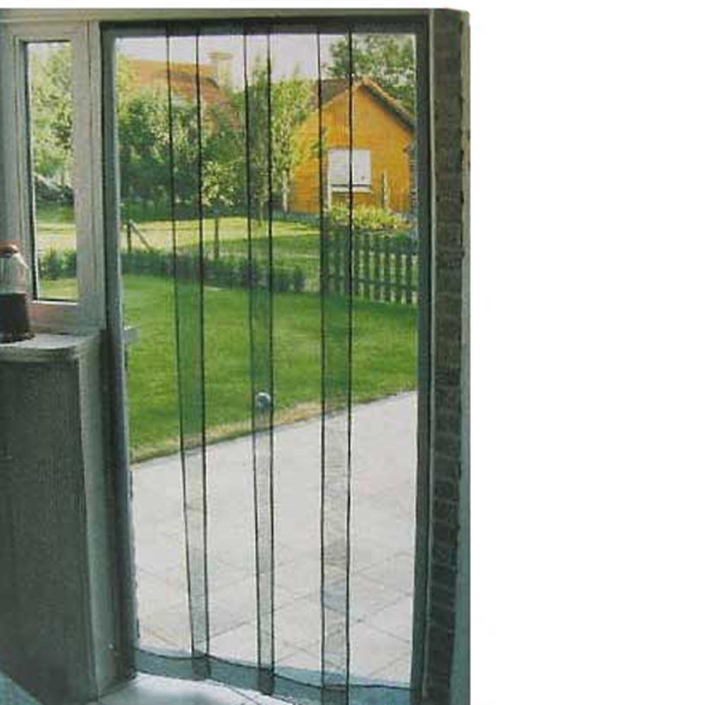 Zanzariera per porte e finestre 4 pannelli scorrevoli ebay for Zanzariera porta finestra