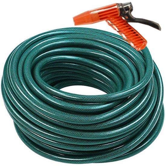 Tubo da giardino 25mt in pvc con pistola per annaffiare e for Spruzzi irrigazione