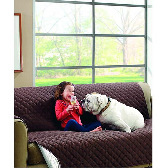 Copri divano couch coat z2 2316 reversabile 2 colori protezione cane e gatto ebay - Gatto divano microfibra ...
