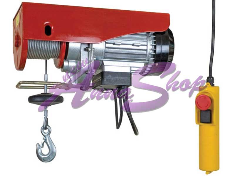 Paranco elettrico 250 500 kg 1000 watts sollevatore for Paranco elettrico 1000 kg