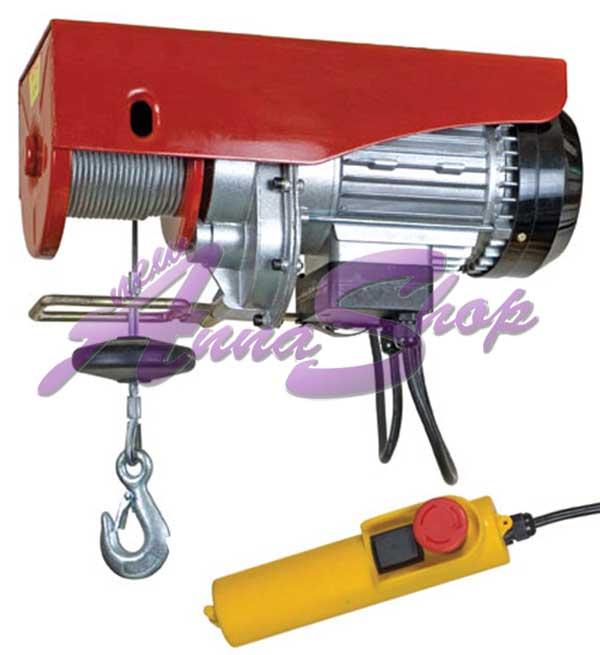 Paranco elettrico 50 100kg sollevatore montacarichi ebay for Paranco elettrico valex