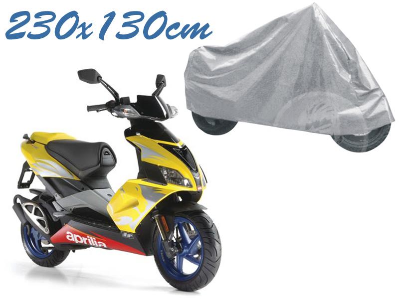 Telo coprimoto aprilia 50 universale per medie piccole dimensioni 230 x 130 cm moto scooter