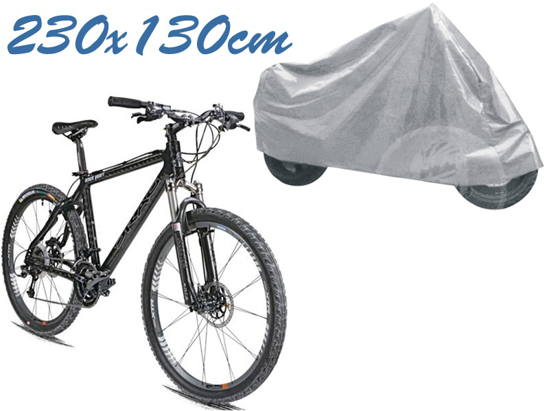 Telo coprimoto universale per medie piccole dimensioni 230 x 130 cm moto scooter bici