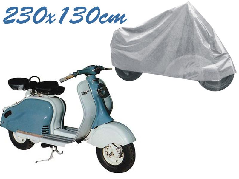 Telo coprimoto lambretta universale per medie piccole dimensioni 230 x 130 cm moto scooter