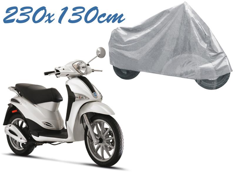 Telo coprimoto liberty 50 - 125 - 150 universale per medie piccole dimensioni 230 x 130 cm moto scooter