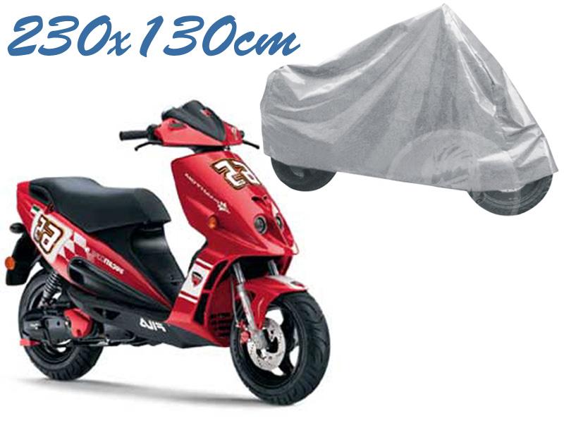 Telo coprimoto phantom 50 malaguti universale per medie piccole dimensioni 230 x 130 cm moto scooter
