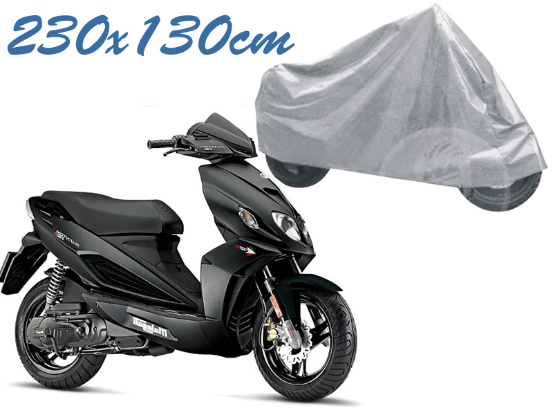 Telo coprimoto phantom malaguti universale per medie piccole dimensioni 230 x 130 cm moto scooter