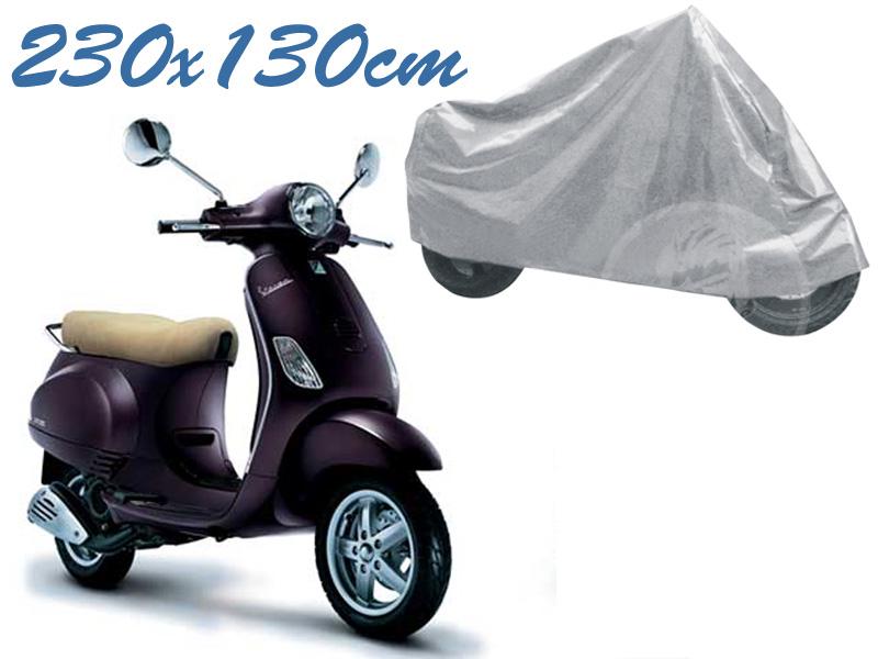 Telo coprimoto vespa et 50 - 125 universale per medie piccole dimensioni 230 x 130 cm moto scooter