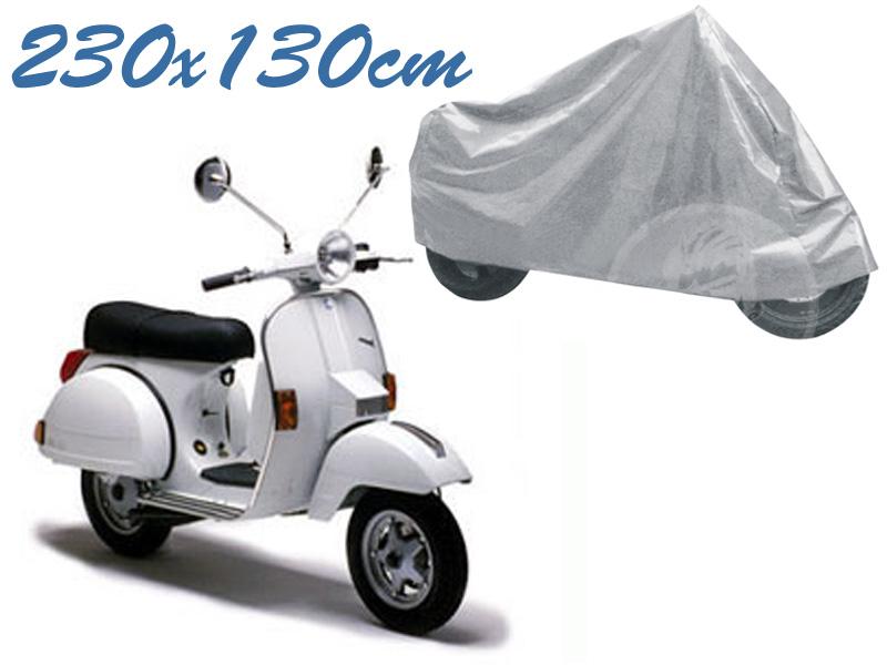 Telo coprimoto vespa px 50 - 125 - 150 universale per medie piccole dimensioni 230 x 130 cm moto scooter