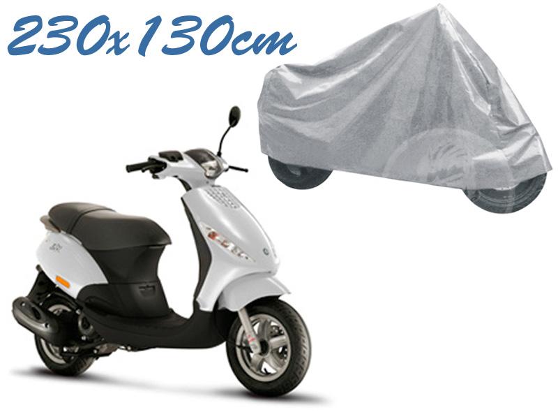 Telo coprimoto zip 50 universale per medie piccole dimensioni 230 x 130 cm moto scooter