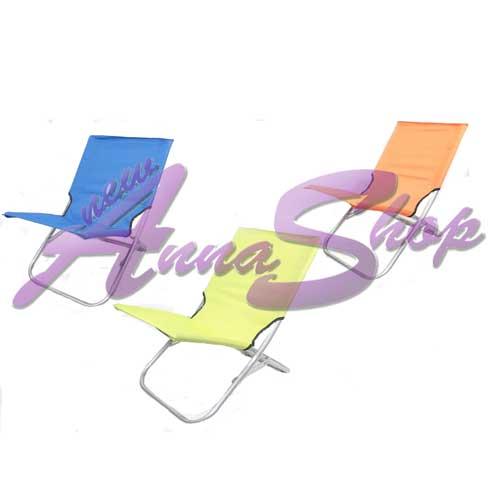 Sdraio spiaggina canapone telato pieghevole accessori vari for Scopa h2o recensioni