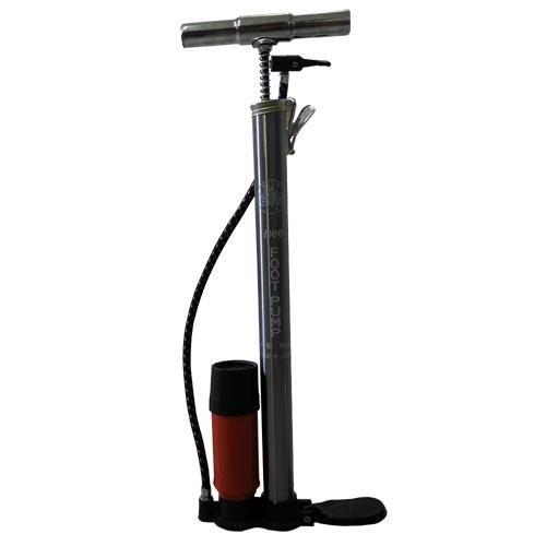 Pompa manuale con manometro